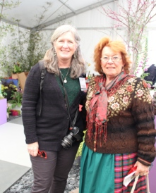 GWA member Barbara Wise with Munich show ambassador