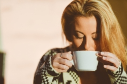 Snippets Woman Sipping