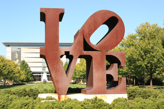Soule LOVE Sculpture
